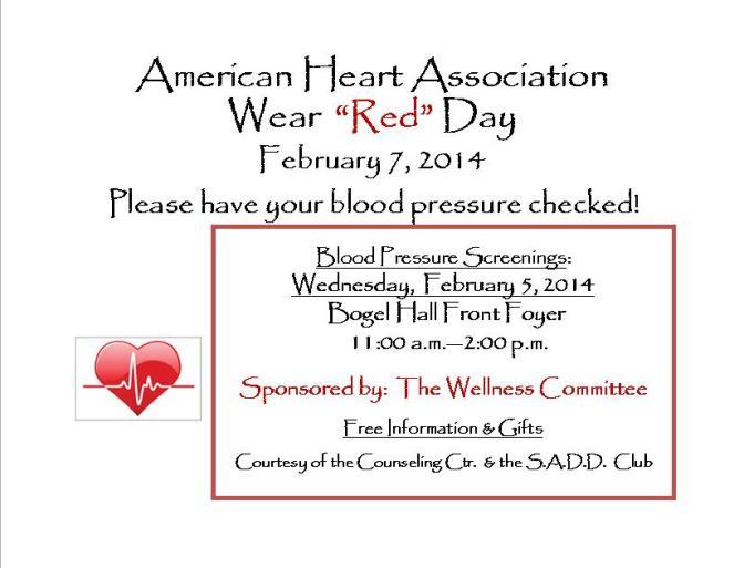 Blood Pressure Screenings