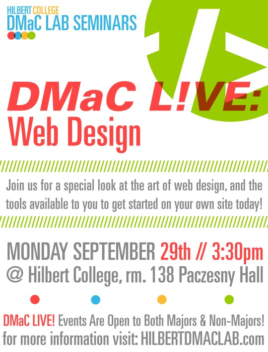 Hilbert DMaC Fall 2014 SCHEDULE WEB MONTH REVISED for COLLEGE