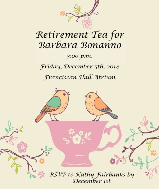 RetirementTeaInvitation