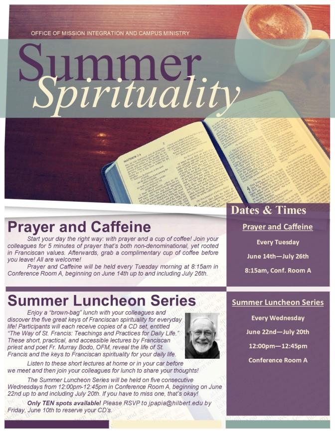 Summer Spirituality
