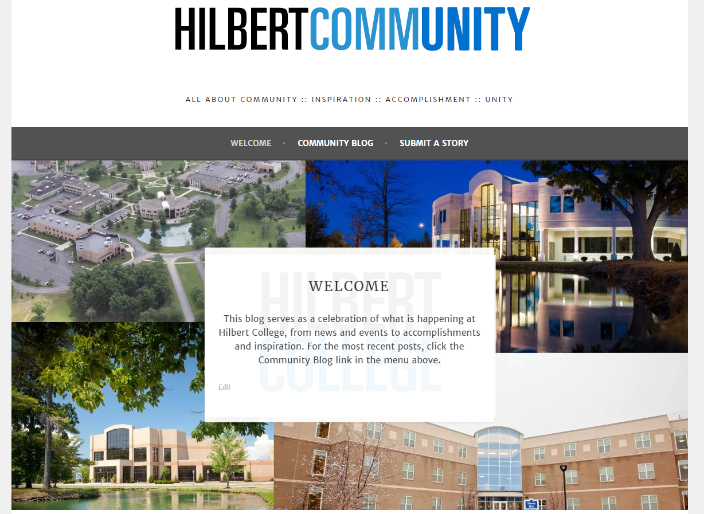 Hilbert Community blog link